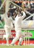 Mohammad Wasim bowled neck and crop by Reon King