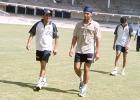 14 May 2001: India in Zimbabwe, Conditioning camp at M Chinnaswamy Stadium, Bangalore.