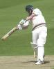 Leics Carl Crowe smacks a John Wood delivery for 4 runs, Benson & Hedges Cup, May 22 at Leicester
