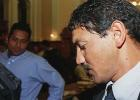 South African national cricket team member Henry Williams leaves the court after testifying before the King Commission, which is investigating irregularities in South African cricket, especially accusations of match fixing and accepting bribes against former teammate and South African cricket captain Hansie Cronje. Cronje is one of 49 witnesses that will be called to testify before the commission, which is being held in Cape Town. Williams had just found out that he had been left off the South African side that will play Sri Lanka.