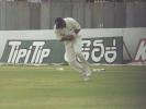 Pushpakumara catches Younis Khan, Pakistan v Sri Lanka, 2nd Test at Galle, 21-25 June 2000