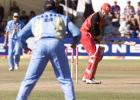 24 June 2001: Coca-Cola Cup (Zimbabwe) 2001, 2nd Match, Zimbabwe v India, Harare Sports Club.