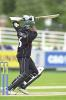 Anurag Singh with a lovely cover drive at The Riverside, Durham v Worcs, NUL 16 Jun 2002