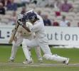 Kumar Sangakarra pushes out in the Sri Lankan second innings, England v Sri Lanka, Third Test, Old Trafford, 17 Jun 2002
