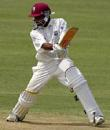 Ramnaresh Sarwan cuts on his way to 261*, West Indies v Bangadesh, 2nd Test, Jamaica, June 6, 2004