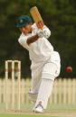 Mel Jones batting against England, Bankstown Oval, Sydney, 2003