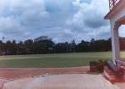 A splendid view of the Calcutta Cricket and Football ground, Ballygunj, Calcutta