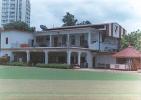 The Pavilion at the Calcutta Cricket and Football ground, Ballygunj, Calcutta