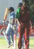 30 June 2001: Coca-Cola Cup (Zimbabwe) 2001, 4th Match, India v West Indies, Queens Sports Club, Bulawayo