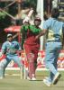 04 July 2001: Coca-Cola Cup (Zimbabwe) 2001, 6th Match, India v West Indies, Harare Sports Club