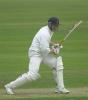 Andrew Gait at the crease on day one of the local derby between Notts and Derby at the County Ground Derby