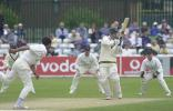 Derbyshire v Nottinghamshire , Frizzell County Championship Div 2 , County Ground Derby 22 July 2002
