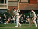 Peter Sainsbury batting