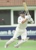 Richard Green takes off for a single on playing a drive, PPP healthcare County Championship Division One, 2000, Yorkshire v Lancashire, Headingley, Leeds, 28-31 July 2000.