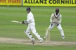 Marcus Trescothick with a late cut in his second innings