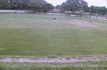 Grounds men at work on the Kamla Club ground pitch, Kamla Club Ground, Kanpur