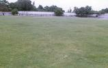 The lush green turf at the OEF Ground, Ordinance Equipment Factory Ground, Kanpur