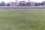 The Concrete Stands at the OEF Ground in Kanpur