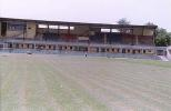 The groundsmen at work on the turf at the KD Singh Babu Stadium, Lucknow