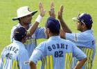 1 August 2001: Coca-Cola Cup (Sri Lanka) 2001, 8th Match, India v Sri Lanka, Sinhalese Sports Club, Colombo