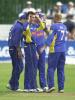 Lungley celebrates his wicket, Kendall is out for LBW after 1 run,  Norwich Union League, Sat 3rd August 2002