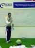 Auckland player Matt Horne teaches students at the Auckland Cricket Association winter academy. July 2003.