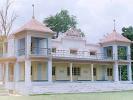 The view of the splendid Willingdon Pavilion at the Aligarh Muslim University Ground