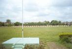 The view of the Mecon Stadium ground from the flag post, Ranchi