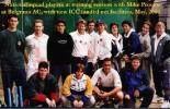 National squad players at training session with Mike Procter at Belgrano AC, with new ICC funded net facilities, May 2000
