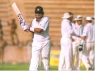 Gagan Khoda returning pavillion after caught at cover off Daniel Vettori, during day three of Indian Board President's XI v New Zealanders at Barkatullah Khan Stadium, Jodhpur, 7 October 1999, New Zealand in India, 1999/00