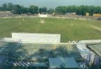 A match in progress at the MBB stadium in Agartala