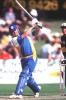 13 Nov 1999: Graham Cunningham, Battsman for Canberra plays a drive during the Mercantile Mutual Cup match between the Canberra Comets and the Victorian Bushrangers played at the Punt Road Oval, Melbourne, Australia. Victoria defeated Canberra.