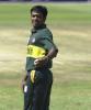 In the ICC Knock Out Trophy match Bangladesh v England, Nairobi Gymkhana, October 2000
