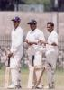 A rave sight on the Cricket pitch Vaas, Jeewantha and D Samaraweera