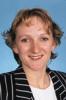 Portrait of Justine Fryer, New Zealand women's player in the 1997/98 season.