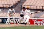 Ryan Campbell sweeps NSW spinner David Freedman for four. NSW V WA Sheffield Shield 21st November 1997