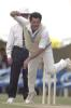 07 Nov 2000: Mike Whitney for the Chairman's XI in the match between the Australian Cricket Board's Chairman's XI and the West Indies at LilacHill in Perth, Australia.