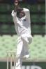 10 Nov 2000: Colin Stuart for the West Indies in the match between the Western Warriors and the West Indies at the WACA ground in Perth, Australia.