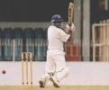 Upeka fernando adds valuable runs as rain threatens ,in the match between SSC and BRC