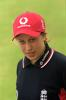 Portrait of Laura Harper - England player in the CricInfo Women's World Cup 2000