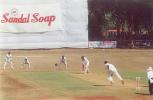 Venu Gopal Rao faces a ball from B Akhil