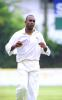 Mario Vellavarayan prepares to bowl for CCC