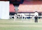 Goan skipper V Kolambkar directs the ball from T Yohannan towards square leg, Ranji Trophy South Zone League, 2000/01, Kerala v Goa, Nehru Stadium, Kochi, 15-18 November 2000.