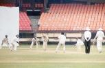 RP Rane plays off the pads to a ball from AnanthaPadmanabhan, Ranji Trophy South Zone League, 2000/01, Kerala v Goa, Nehru Stadium, Kochi, 15-18 November 2000.