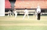 Tanveer Jabbar about to caught behind by Kamaruddin off AnanthaPadmanabhan, Ranji Trophy South Zone League, 2000/01, Kerala v Goa, Nehru Stadium, Kochi, 15-18 November 2000.