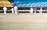 Kolambkar is delighted having caught Ramprakash off Aware, Ranji Trophy South Zone League, 2000/01, Kerala v Goa, Nehru Stadium, Kochi, 15-18 November 2000.