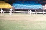 S Oasis is ready to play at a delivery from Aware, Ranji Trophy South Zone League, 2000/01, Kerala v Goa, Nehru Stadium, Kochi, 15-18 November 2000.
