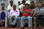 Left to right, Shivlal Yadav, Chandu Borde - chair, Ashok Malhotra, Madan Lal