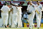 1st Test: Australia v England at Brisbane, 7-11 Nov 2002
