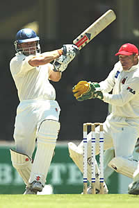 Slater hits out, New South Wales v South Australia, Pura Cup, 2002/03
